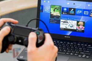 نحوه اتصال PS4 به لپ تاپ