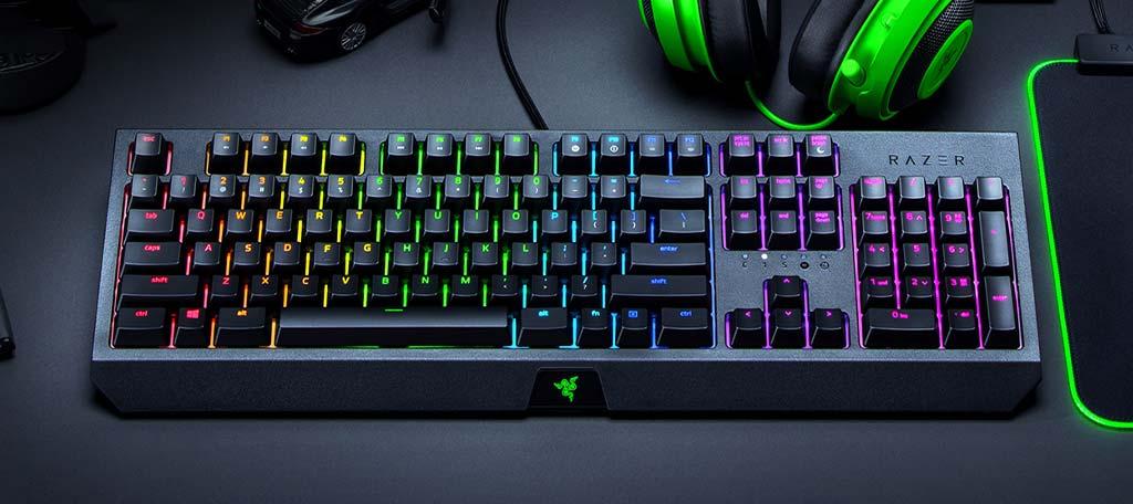 بهترین صفحه کلید ها Razer